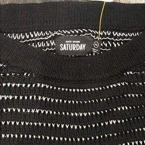 kate spade Sweaters - Kate Spade Saturday bar wing crop sweater